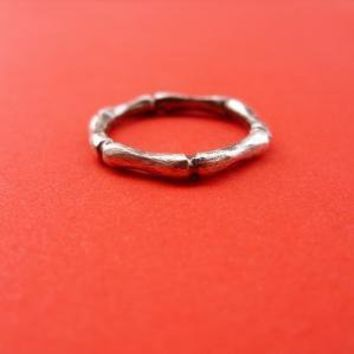 Ring of Bone  or Bamboo by brightsmith on Etsy