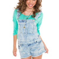 Hampshire Aztec Denim Overalls