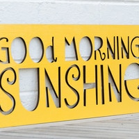 Good Morning Sunshine by spunkyfluff on Etsy