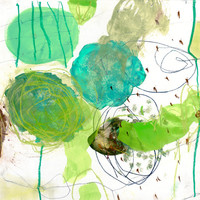 green experiments III Art Print by Iris Lehnhardt
