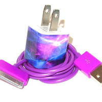 Galaxy Design iPhone Charger