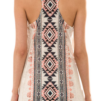 Take a Back Road Aztec Racer-back Tank