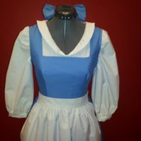 Belle's Provincial Dress by tulipdesign on Etsy