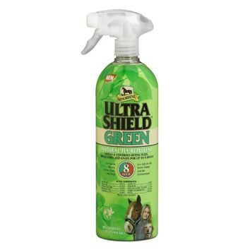 Absorbine UltraShield® Green Natural Fly Repellent, 32 fl. oz.