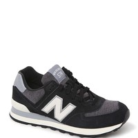 New Balance 574 Penant Collection Sneakers - Womens Shoes - Black