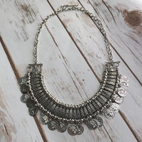Rayna Coin Necklace