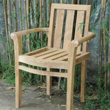 Classic Stackable Armchair Set of 4