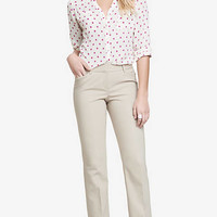 ULTIMATE DOUBLE WEAVE BARELY BOOT EDITOR PANT from EXPRESS