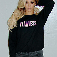 beyonce flawLESS sweatshirt flawless crewneck sweatshirt