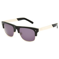 9Five Watson 2 Sunglasses Black/Gold One Size For Men 25589214901