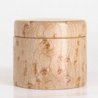 Trinket Box Handcrafted in Birdseye Maple