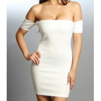 The White Evening Dress