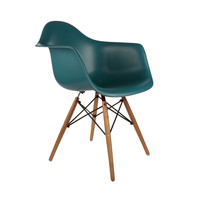 Montmartre Arm Chair in Teal