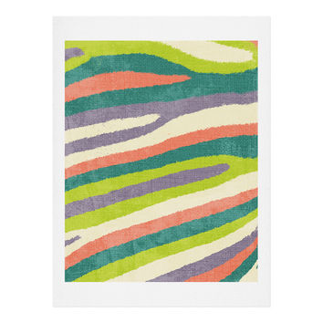 Nick Nelson Fruit Stripes Art Print