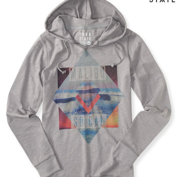 Long-Sleeve Free State Malibu SoCal Hooded Tee