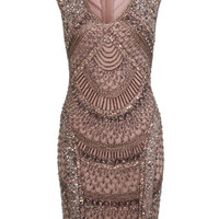 Fan Sequin Dress