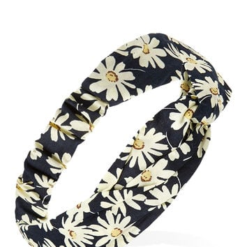 Sweet Daisy Knotted Headwrap