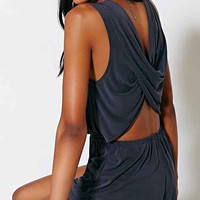 Silence + Noise Two Twisted Romper-
