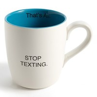 'That's All - Stop Texting' Mug
