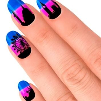 Lily Allen Nails By Elegant Touch -LDN