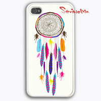 Dream Catcher iPhone 4 Case, iPhone 4s Case, iPhone Case, Pattern Print white iphone hard case