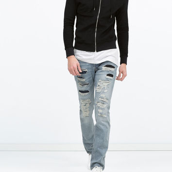 JEANS WITH COIN POCKET New