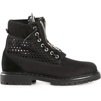 Balmain Faux Lace-up Boots - The Webster - Farfetch.com