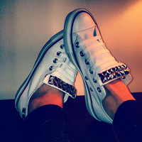 ANY COLOR Studded Converse Shoes