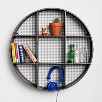 Round Curiosity Shelf- Black One
