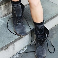 Free People Womens Truemay Lace Up Boot