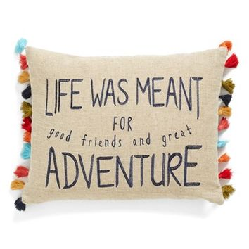 Levtex 'Life Adventure' Accent Pillow - Red