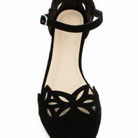 Marquise Laser Cut-Out Flats - GoJane.com