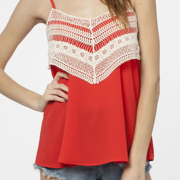 Festival Top in Red