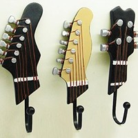 European Creative Guitar Hanger, Decorative Wall Hanging, Decorative Hook, the Door Home Furnishing Decorations