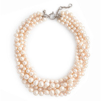 J.Crew Womens Freshwater Pearl Hammock Necklace