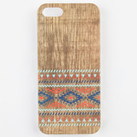 Tribal Wood Iphone 5/5S Case Wood One Size For Women 23666246101