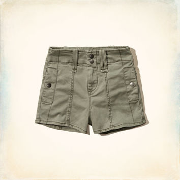 Hollister Military High Rise Shorts