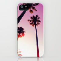 Palm tree iPhone Case by Laure.B   Society6