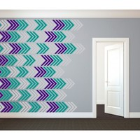 Arrow Wall Pattern- Vinyl Wall Art Decal for Homes, Offices, Kids Rooms, Nurseries, Schools, High Schools, Colleges, Universities, Events