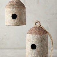 Temprano Birdhouse by Anthropologie Neutral