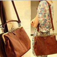 New leather Shoulder Bag Messenger Bag Women's Tote Bag Leather iPad bag Laptop Bag evening bag