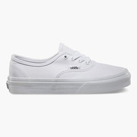 Vans Authentic Girls Shoes True White  In Sizes