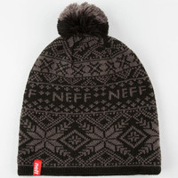 Neff Arctic Beanie Black One Size For Men 24642710001