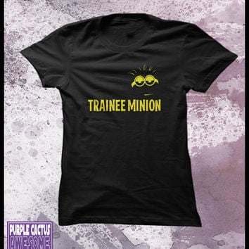 Minions women's t-shirt - Despicable me - Trainee Minion