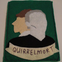 CLEARANCE-- Quirrelmort 'A Very Potter Musical' Kindle Sleeve