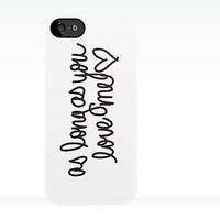 Justin Bieber - As Long As You Love Me iPhone Case