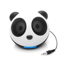 GOgroove Panda Portable Children's LED Night Light Speaker with Enhanced Bass Woofer and USB Cable - Perfect Comfort for your Children at Bedtime