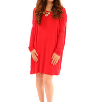 your favorite piko tunic (red)