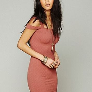 Intimately Womens Off the Shoulder Bodycon -