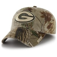 '47 Brand Green Bay Packers Realtree Franchise Slouch Fitted Hat